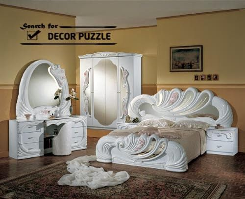 Classic Bedroom Furniture, White Bedroom Furniture Sets With Dressing Table