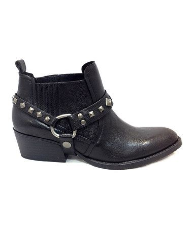 Black Rock N Raw Ankle Boot - Women by Kenneth Cole Reaction #zulily #zulilyfinds