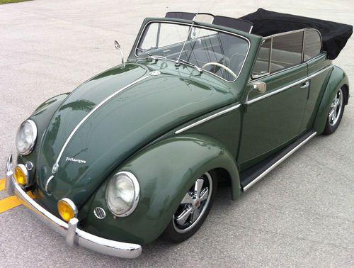 '54 Volkswagen Beetle - Iceland Green