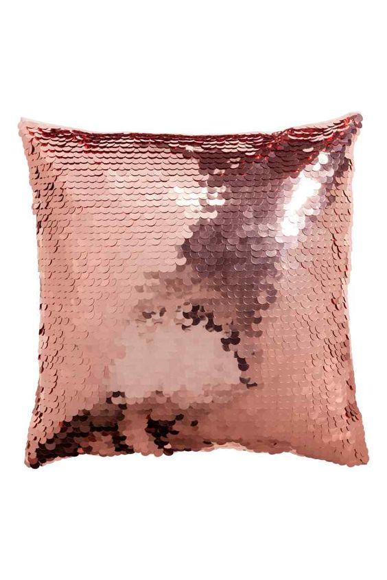 Fodera cuscino con paillettes | H&M:
