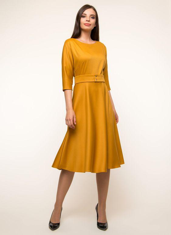 Женское Платье прямое 11, Paradox цвет Горчичный за 3990 руб. арт.1287278