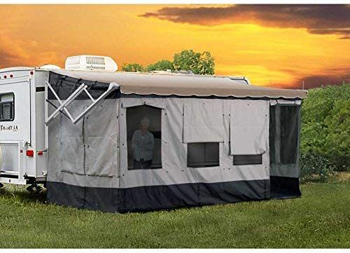 Amazon Com Carefree 291200 Vacation R Screen Room For 12 To 13 Awning Automotive Camper Awnings Shade Tent Camper Makeover