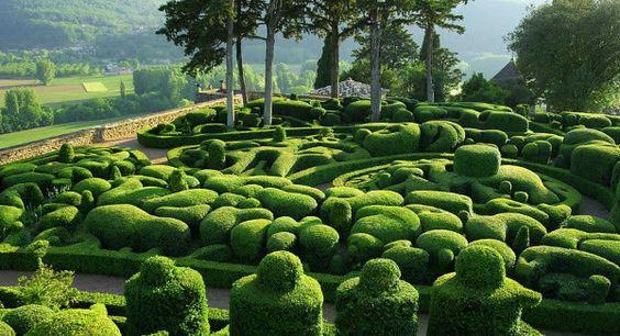 Los increíbles jardines de Marqueyssac