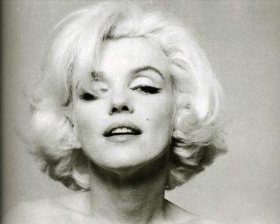 Bert Stern, fotógrafo. La cámara la adoraba.