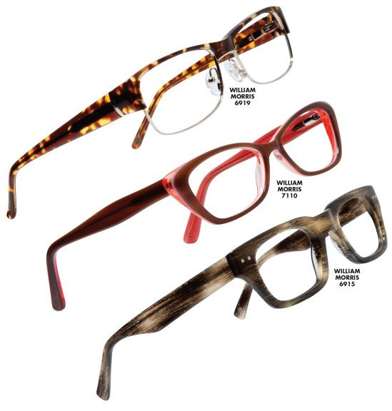 William Morris London Eyewear, an English brand reflecting the stylish culture of London through classic designs in dynamic colors, is now available from Classique Eyewear, the exclusive U.S. distributor.