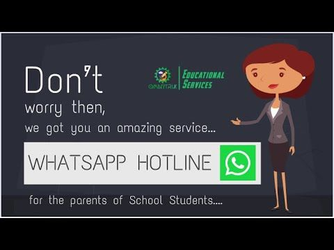 Whatsapp Hotline For Parents Students To Get Answers To Subject