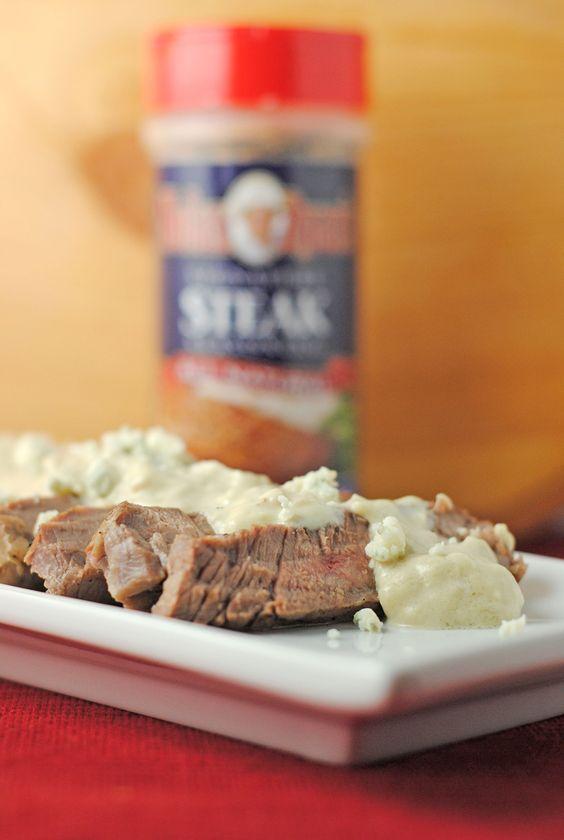 London Broil With Creamy Horseradish Sauce Recipe — Dishmaps