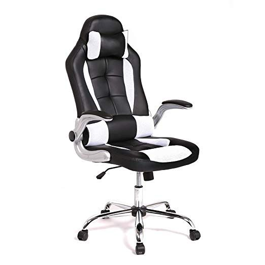 High Back Office Chair Ergonomic Recliner Computer Desk Task Gaming Racing Style In 2020 Best Ergonomic Office Chair High Back Office Chair Adjustable Office Chair