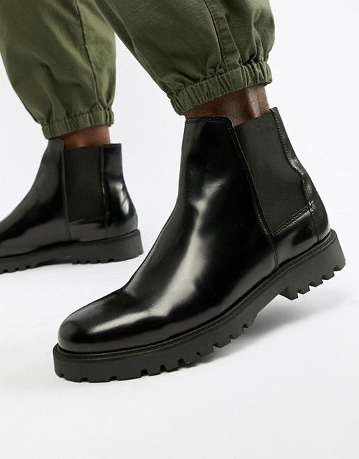 Zign – Military Stiefel in Khaki | ASOS