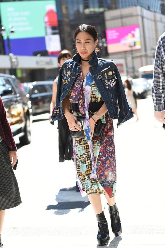☆New York Fashion Week street style