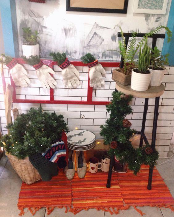 Christmas decor- my coffee shop