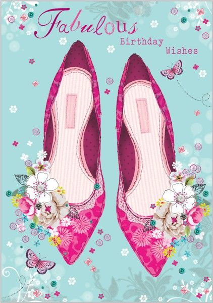 Card Ranges » 4873 » Pretty Shoes - Abacus Cards - Greetings Cards, Gift Wrap & Stationery
