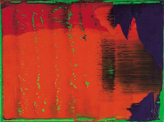 Gerhard Richter  grün - blau - rot, 1993