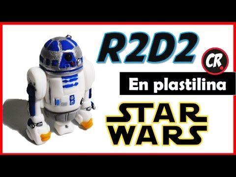 Cómo hacer a R2D2 de plastilina / Star Wars - YouTube