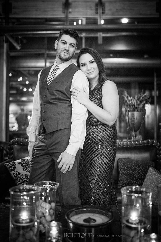 Engaged – Milwaukee Winter Engagement Photography | Boutique Photographer