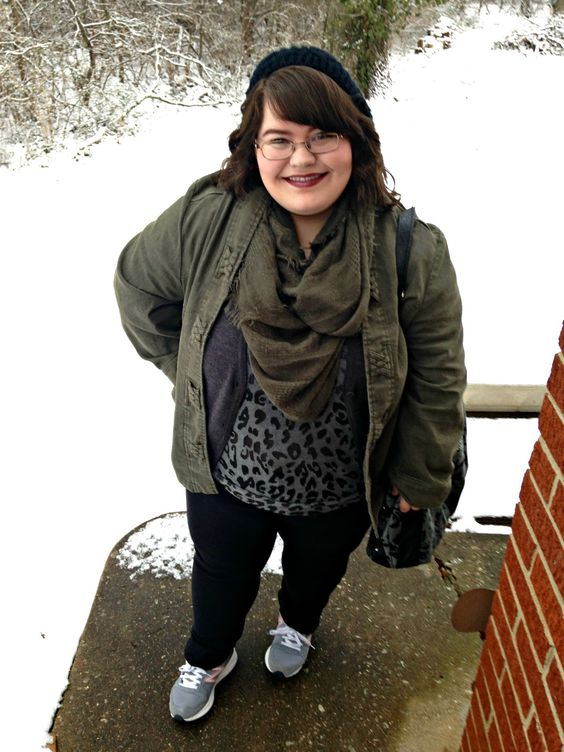 Unique Geek: Plus Size OOTD: Olive You: