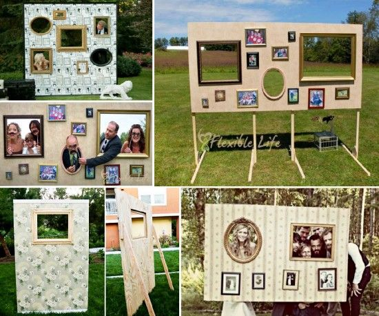 DIY Photo Booth - Would love to do this at our next family reunion!:
