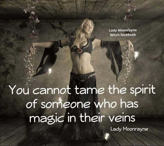 You cannot tame the Spirit of someone who has Magic in their veins ༺♡༻