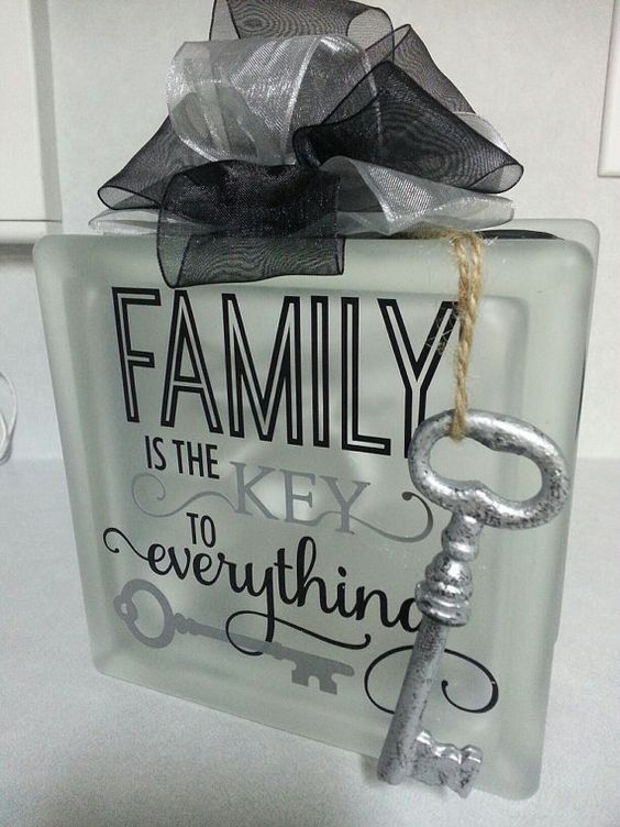 These versatile 6x6 glass blocks complete with lights are perfect for any home or as a gift for any occasion. This size block fits nicely on