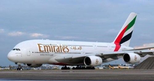 Double Decker Airplane Emirates Airbus Emirates Airline Airbus A380