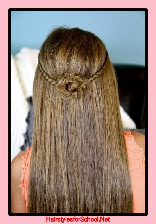 New Year S Hairstyles For Girls Hairstyles For School New Year Hairstyle Girl Hairstyles Box Braids Hairstyles