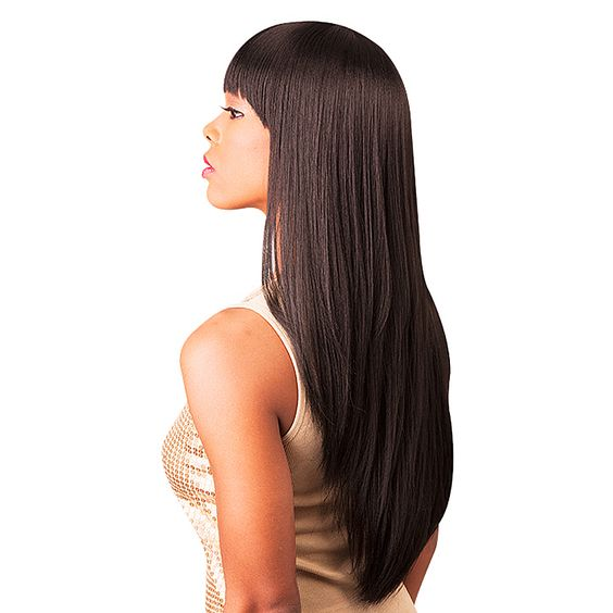 This Unprocessed 100-percent Brazilian Virgin REMI Hair Wig is the finest quality 100-percent human hair. The cuticles are kept intact and aligned in unidirectional fashion creating the most natural look.