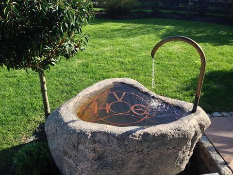 Referenzen Steinbrunnen Garten Gartenbrunnen Steinbrunnen