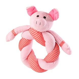 Pig Twisty Dog Toy