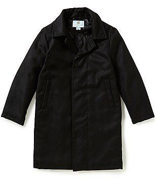 Class Club Big Boys 8-20 Flannel Long Dress Coat | For Walden ...