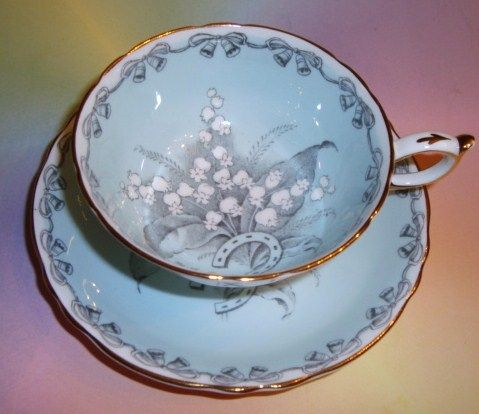 Paragon Lilly of the Valley cup and saucer