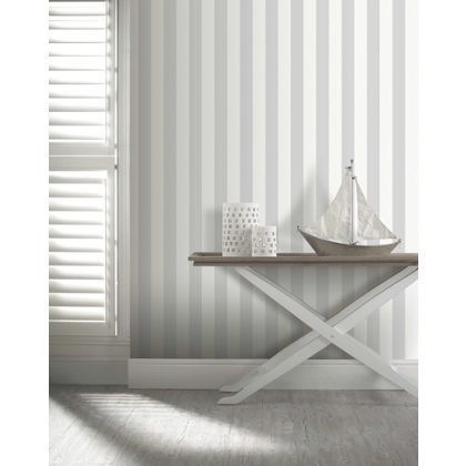 Under sink storage unit white grey house and stripe for Wallpaper homebase grey