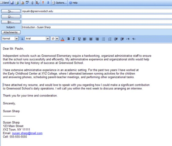 6 Easy Steps for Emailing a Resume and Cover Letter Cover letter - interview follow up letter