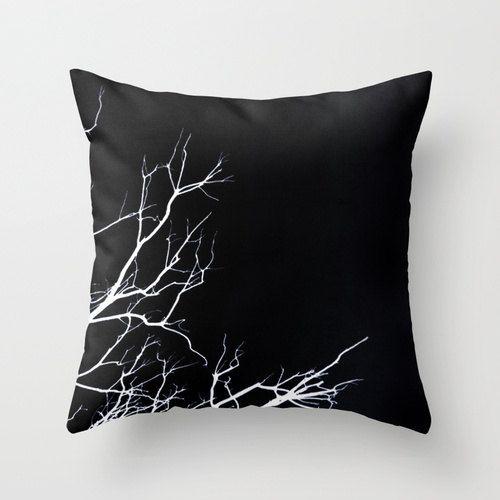 Throw Pillows Dorm Room : Decorative Pillow Cover,Branches, Nature, Home Decor, Bedroom, Living Room, Throw Pillow, Dorm ...