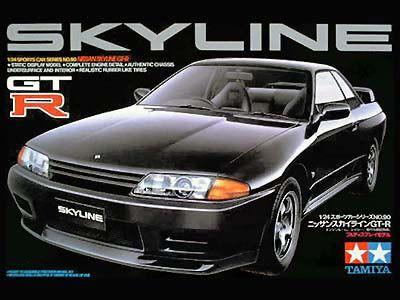 Tamiya Nissan Skyline GTR 1/24 Kitset Model