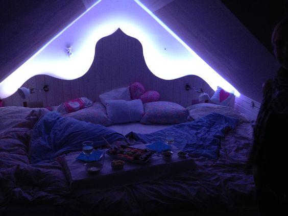 Bett und Spielwiese