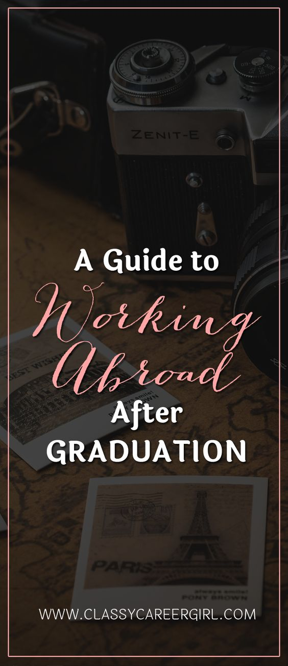 A Guide to Working Abroad After Graduation