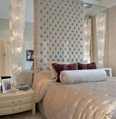 To be house interiors and the wall on pinterest for How to make a tall headboard