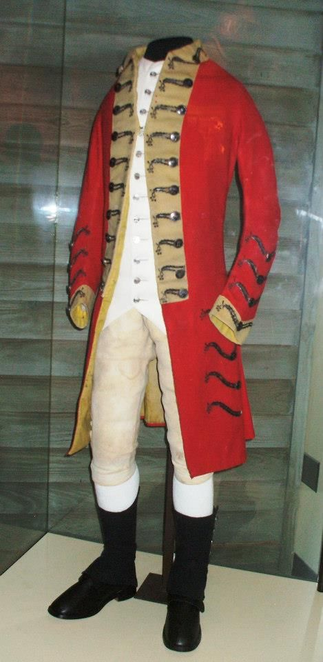 Red Coat Revolutionary War Coat Nj