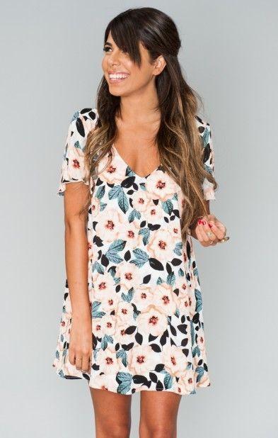 Kylie Mini Dress ~ Steel Magnolia