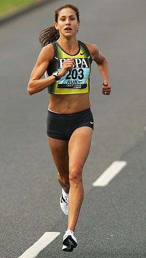 """""""That's the thing about running: your greatest runs are rarely measured by racing success. They are moments in time when running allows you to see how wonderful your life is."""" --Kara Goucher"""
