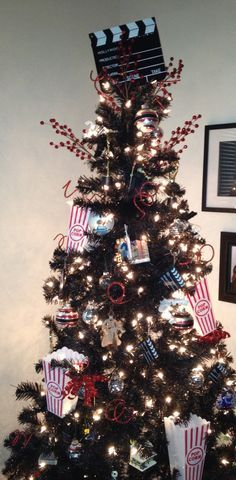 movie themed christmas tree - Google Search
