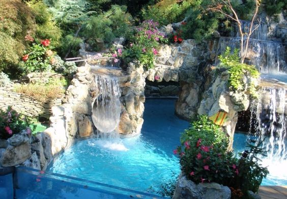 Unique swimming pools designs best pools photo gallery for Unique swimming pool designs