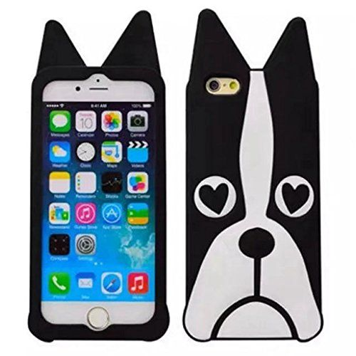 Iphone 7 Plus Cartoon Silicone Case,Lovely Animals Design 3D ...