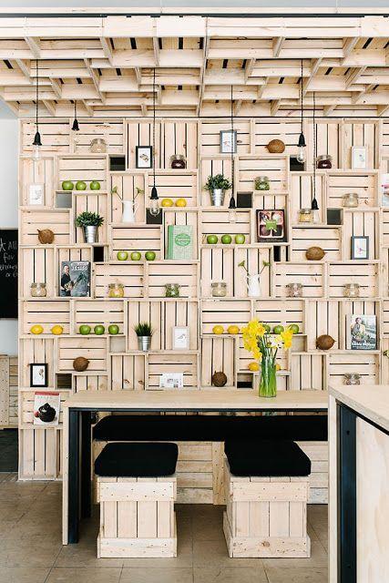 muebles de cocina con cajas de fruta - Buscar con Google: