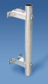 Wall Mounted Flagpole Holder For 1 Dia Pole Flag Pole Holder Pole Holders Rooftop Decor