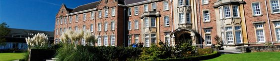 Caerleon Campus, University of South Wales. (Where Verity got her MA....)