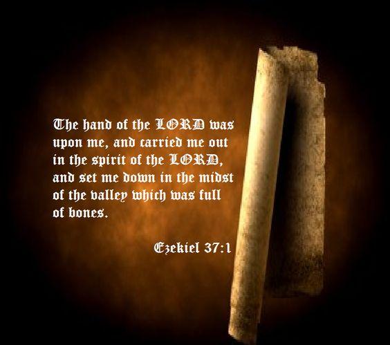 Ezekiel 37:1