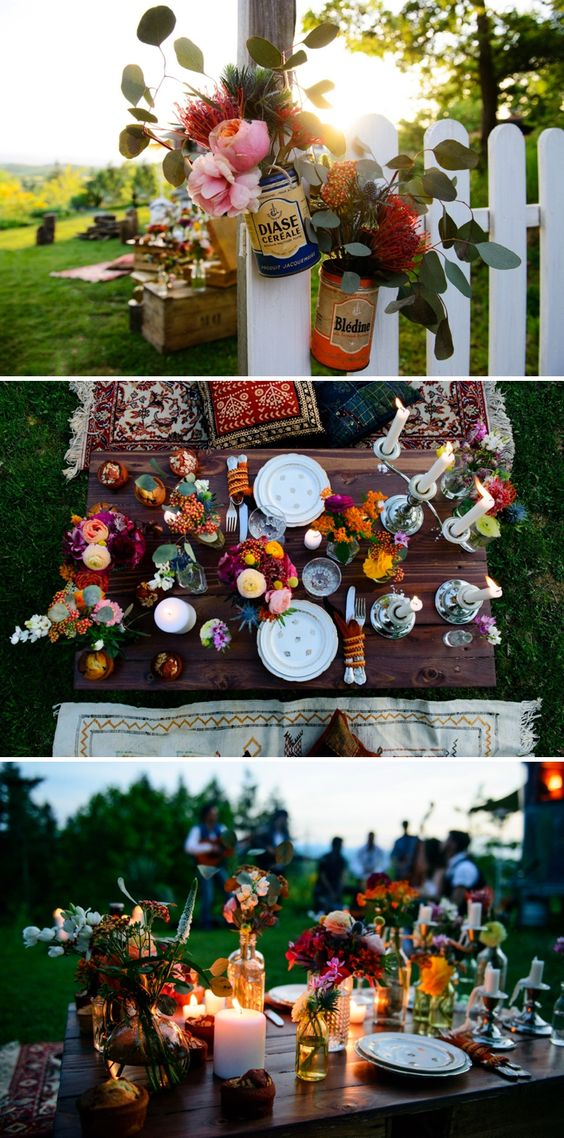 Shooting d'inspirations Hippie-Folk | Déco Mariage | Queen For A Day - Blog mariage