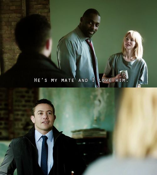Luther and Ripley Bromance <3