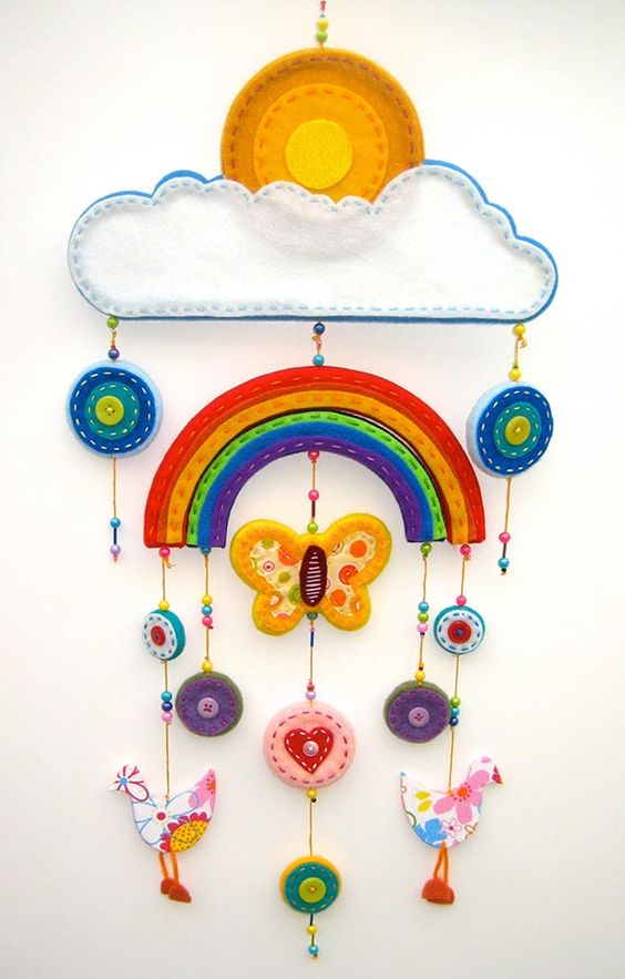 felt baby mobile - Google Search